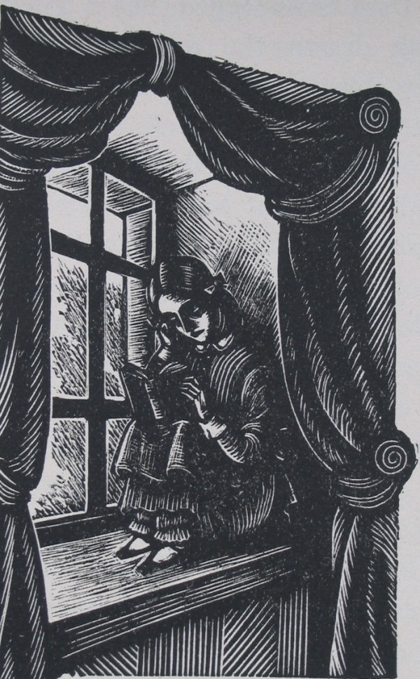 Fritz Eichenberg Mad Wife In The Attic