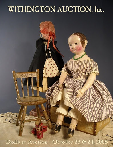 Exceptional Izannah Walker doll offered by Withington Auction House in 2008   http://www.withingtonauction.com/