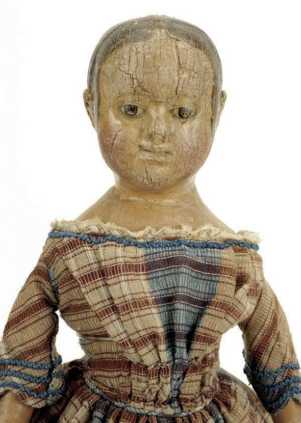 Izannah Walker doll offered for sale on Live Auctioneers  https://www.liveauctioneers.com/